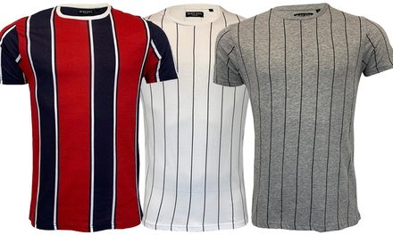Brave Soul Stripe T-Shirt