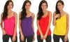 Lyss Loo Cami With Adjustable Straps & Slip: Lyss Loo Cami With Adjustable Straps & Slip
