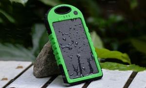 Batterie solaire portable étanche