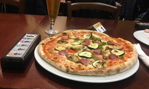 Medioevo Sinnai: Menu pizza con dolce e birra per 2 o 4 persone al Medioevo di Sinnai (sconto fino a 66%)