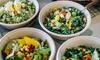 Salat-Bowl nach Wahl + Getränk