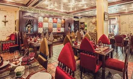 Iftar Set Menu Meal for One Child or Up to Six Adults at Times of Arabia, Madinat Jumeirah