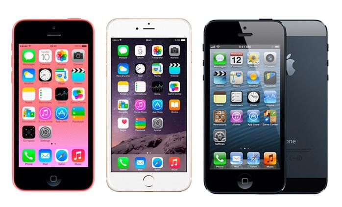 iPhone 3GS, 4, 4S, 5, 5C, 5S, 6, 6 Plus, 6S o 6S Plus reacondicionado con accesorios desde 49 €, con envío gratuito