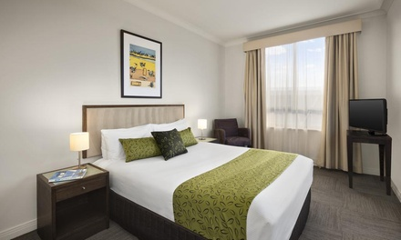North Ryde, NSW: 1 or 2 Nights for Two People with Late Check-Out, Wineand Chocolates at 4* Quest Serviced Apartments