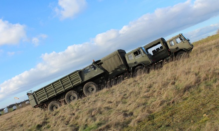 DAF Army Truck Driving or Ride