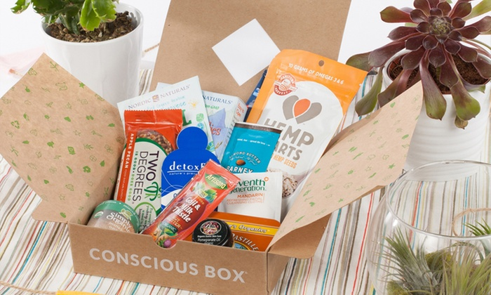 Conscious box subscriptions groupon goods conscious box subscriptions natural product subscription from conscious box multiple options available from negle Image collections