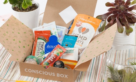 groupon daily deal - Natural-Product Subscription from Conscious Box. Multiple Options Available from $13.99–$84.99.