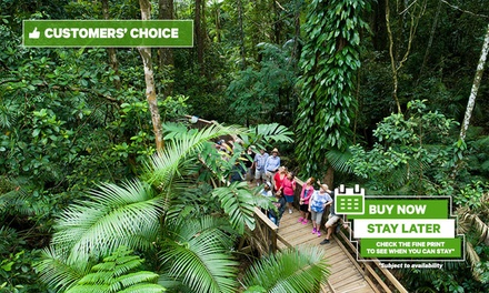 Daintree, Cape Trib & Bloomfield: 1-Day 4WDSafari Experience for Up to 4 w/ Wildlife Watching & River Cruise, Cairns