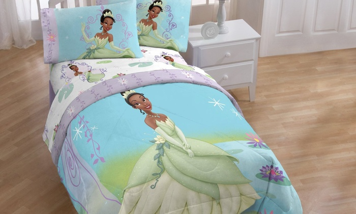 Up To 28 Off On Princess And The Frog Comforter Groupon Goods