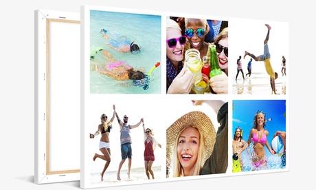 Foto-lienzo con imagen personalizable en tamaño a elegir en Photo Gifts (hasta 78% de descuento)