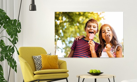 Premium Custom Canvas Prints from Fabness (Up to 89% Off). 24 Options Available.