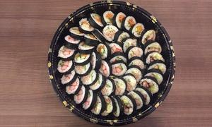 Aikuma Sushii: Sushi Platter: 48-Piece ($35) or 96-Piece ($65) at Aikuma Sushii(Up to $130Value)