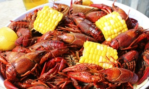 Bourbon Street: Cajun Dinner for Two or Four at Bourbon Street