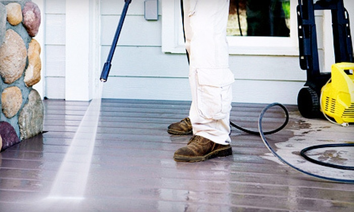 CK Pressure Cleaning - Nashville: Home, Driveway, and Sidewalk Pressure Washing from CK Pressure Cleaning (Up to 71% Off). Three Options Available.