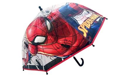 Parapluie enfant Spiderman en forme de cloche