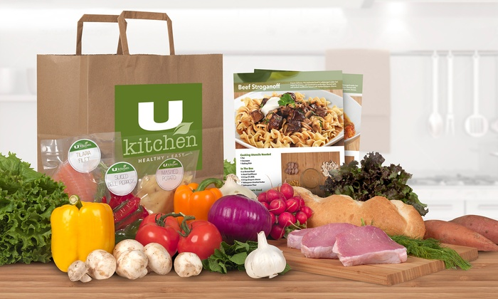 U Kitchen - St Louis: Four Prepared Meals Delivered for One or Two People from U Kitchen (50% Off)