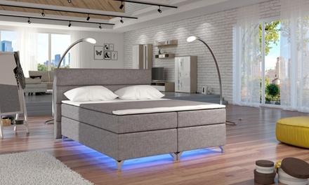 bis zu 61 rabatt boxspringbett luciano groupon. Black Bedroom Furniture Sets. Home Design Ideas