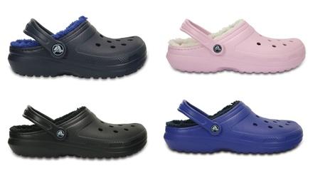 half off 07037 2e82b Sandali Crocs Classic e Hilo Lined disponibili in varie ...