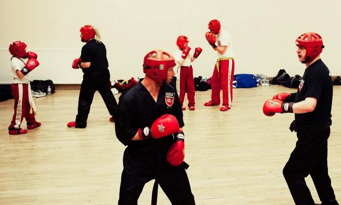 Edinburgh Assassins Kickboxing EAK - Edinburgh: Ten Beginner Kickboxing Classes at Edinburgh Assassins Kickboxing EAK