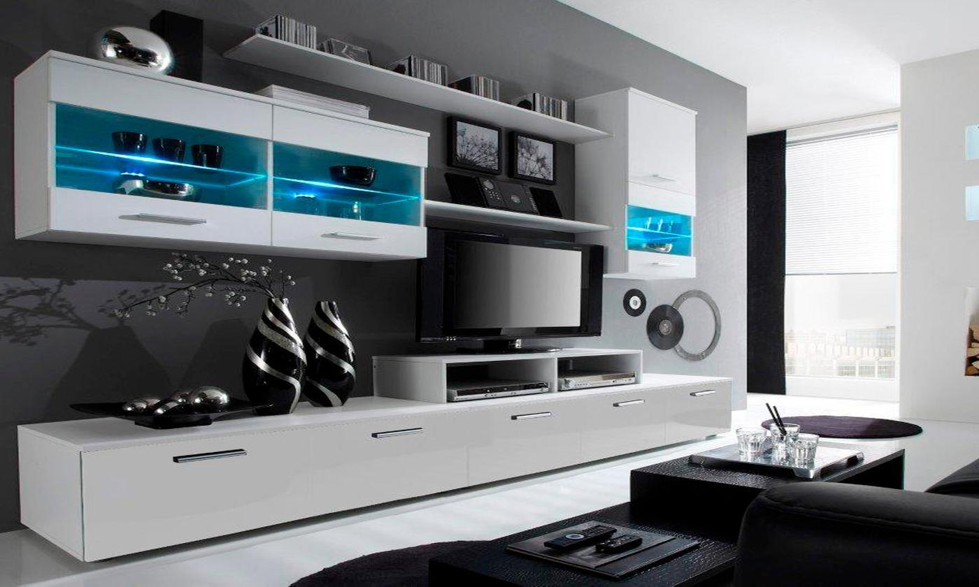 High-Gloss Lounge Unit (£359)