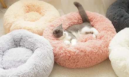 Soft Round Donut Pet Bed: Small $24, Medium $29 or Large $35