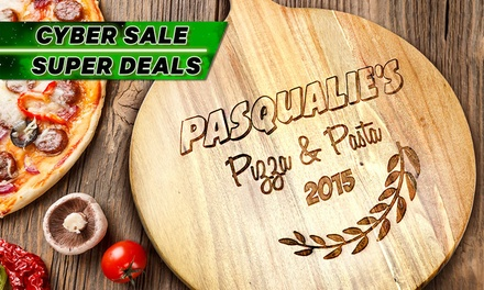 Personalised Acacia Wooden Chopping Board: Small ($19), Medium ($28) or Large ($35) (Don't Pay up to $189.95)