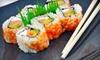 Hazumi Sushi Bar & Asian Cuisine - Lodi: $15 for $30 Worth of Sushi and Asian Cuisine at Haruka Sushi Bar & Asian Cuisine