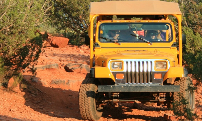 A Day in the West - Sedona: 2.5-Hour Jeep Tour for Two, Four, or Six from A Day in the West (Up to 45% Off)