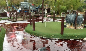 Rascal Bay Margate: 18-Hole Adventure Mini Golf Session for Up to Four at Rascal Bay Margate