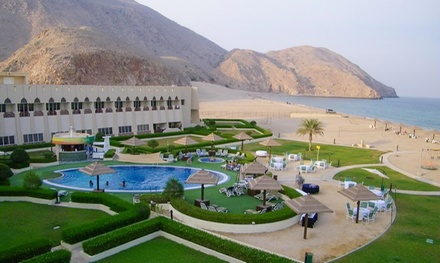 Oman: 1 or 2 Nights for Two with Breakfast at Dibba Beach Resort