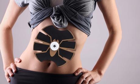 Electro-estimulador trainer pad para abdominales