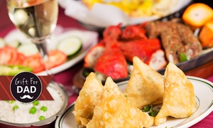 Salt Authentic Indian Cuisine: Indian Feast for Two ($39), Four ($75) or Six People ($113) at Salt Authentic Indian Cuisine (Up to $223.5 Value)