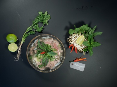 Pho-Suppe oder Bowl mit Vorspeise für 2 Personen bei den Ricebrothers (49% sparen*)