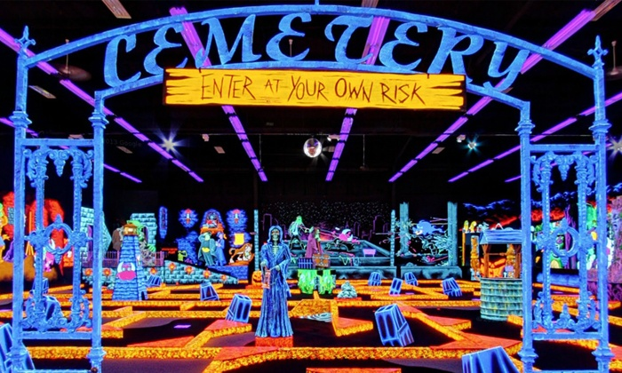 Monster Mini Golf - Nanuet NEW - Nanuet: $18 for Four Rounds of Indoor Miniature Golf at Monster Mini Golf (Up to $36 Value)