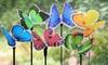 Solar Fiber Optic Butterfly Stake (6-Pack)