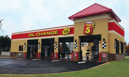 Cheapest Place To Get An Oil Change Near Me >> 19 99 For Synthetic Blend Oil Change At Take 5 Oil Change 42 99 Value