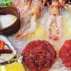 Menu di pesce, lungomare di Ostia