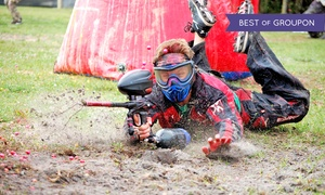 Hot Shots Paintball: Paintball for Two or 10 at Hot Shots Paintball in Loxahatchee (Up to 55% Off)