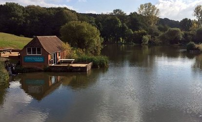 Full Day's Fishing with a Choice of Bait at Alders Farm Fishery (48% Off)
