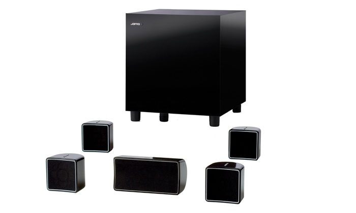 Jamo By Klipsch 5 1 Channel Surround Sound Speakers Groupon