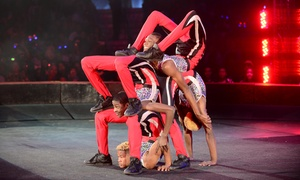 UniverSoul Circus – Up to 36% Off 25th Anniversary Tour at UniverSoul Circus, plus 6.0% Cash Back from Ebates.