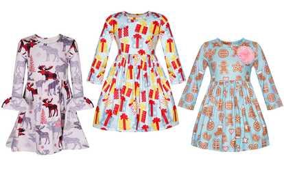 1e244116269 Girls  Lightweight Comfy Sundress Summer Dress