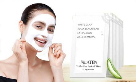 10, 20, 30 or 40 Pilaten White Clay Masks