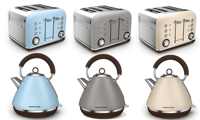morphy richards kettle toaster groupon goods. Black Bedroom Furniture Sets. Home Design Ideas