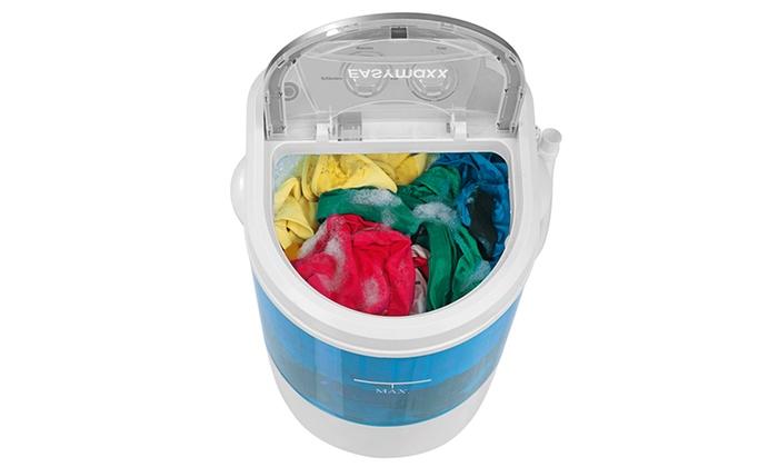 Groupon Goods Global GmbH: EASYmaxx Mini-Waschmaschine 260W (50% sparen*)