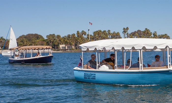 Duffy of San Diego - Mission Bay: $119 for 90-Minute Electric Boat Rental from Duffy of San Diego ($172 Value)