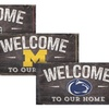NCAA Welcome to Our Home Sign