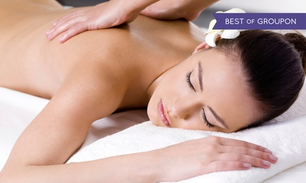 60-Minute Spa Package with Optional 45-Minute Anti-Stress Massage at Czechrose Natural Therapy (Up to 52% Off)