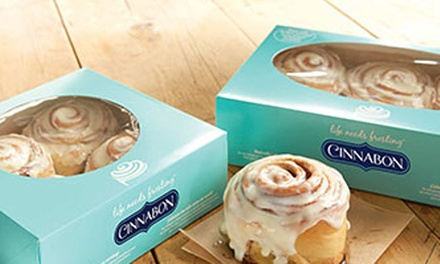 25% Cash Back at Cinnabon in El Cajon