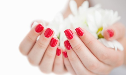 Shellac Manicure $19, Shellac Pedicure $25 or Both $44 at Nuyu Up to $75 Value